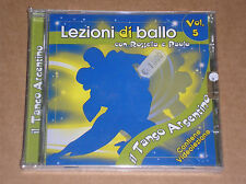 LEZIONI DI BALLO VOL. 5 - IL TANGO ARGENTINO - CD SIGILLATO (SEALED)
