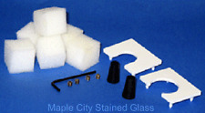 Stained Glass Supplies GLASTAR Grinder Accessory Kit New FREE SHIP LOWER 48