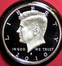 2010-S Silver Proof Kennedy Half Dollar - Deep Cameo!