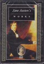 JANE AUSTENS WORKS - DOCUMENTARY - DVD - NEW