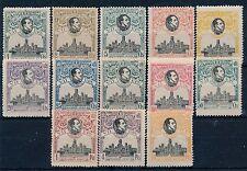 España - Correo- Año: 1920 - numero 00297/09 - ** U.P.U. Lujo / Centrado de la E