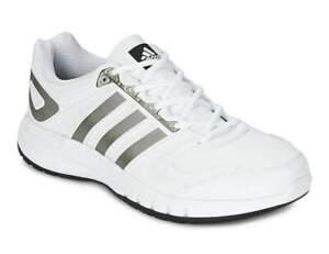 Adidas Mens White Iron Grey Galaxy Lea M Running Trainers UK 14.5 EU 50.6