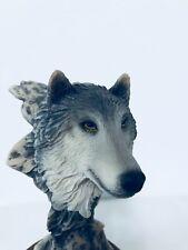 Wolf Figurine from Denali National Park, Alaska, USA