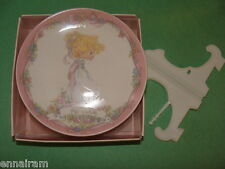 "Precious Moments My Love Tender Touch Plate 1991 ""new"" in box"