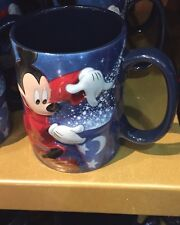 2017 Sorcerer Mickey Mouse Mug Coffee Tea Cup Walt Disney World Theme Park NEW