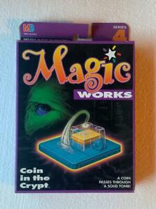 RARE TENYO MAGIC WORKS COIN IN THE CRYPT MINT SEALED T-165 CRYSTAL PYRAMID