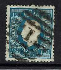 Portugal SC# 46, Used, Perf 12.5, 1 top perf bend, embossing tears -  Lot 031917