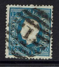 Portugal SC# 46, Used, Perf 12.5, 1 top perf bend, embossing tears -  Lot 031917