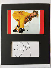 Dennis Quaid Great Balls of Fire AUTOGRAPHED mounted photo-see signing proof