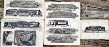 JOHNNY CASH Bachmann Hawthorne Village Train Set - Mint Cond - w/ Cert of Authen