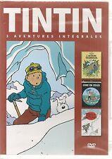 "DVD ""Tintin - 3 aventures - Vol. 6""    NEUF SOUS BLISTER"
