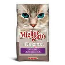 Morando Miglior Gatto Croccantini I Deliziosi per Gatto Gatti Sterilizzati 2 Kg