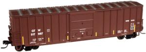 Atlas N Scale Canadian National CN GTW 60' PD RIb-Side Box Car 50-001-290