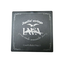 AQUILA UKULELE SUPER NYLGUT STRINGS LAVA SERIES - BARITONE DGBE LOW D - 116U