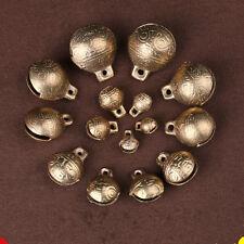 9MM 100PCS/LOT Tibetan Brass Bells Beads Craft Tiger's head Small Metal Ethnic