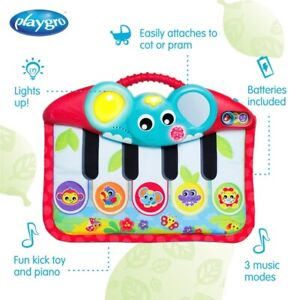 Playgro Music and Lights Piano and Kick Pad Red