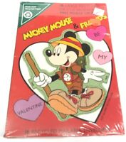 Vintage Walt Disney Mickey Mouse and Friends Valentine's Cards Sealed 1990s