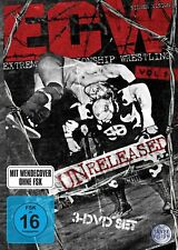 WWE ECW Unreleased Volume Vol 1 3x DVD