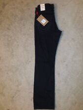 TRUE RELIGION Black Jeans Men's Size 32W 32L Straight Leg with Flap Pockets NWT