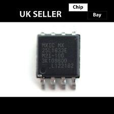 2x MXIC MX 25l1633e 25l16 FLASH MEMORY EEPROM SERIALE chip bios