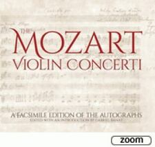 The Mozart Violin Concerti: A Facsimile Edition of the Autographs (Hardback or C