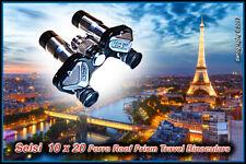 SELSI 10X20 MIKRON Spy/Travel Porro Roof Prism Center Focus Binoculars RARE MINT