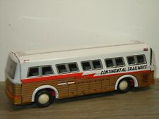 Super Setra Continental Trailways Silver Eagle - Tinplate Japan *40381