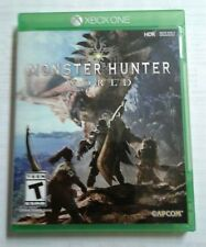 MONSTER HUNTER WORLD XBOX ONE CAPCOM VIDEO GAME BRAND NEW FACTORY SEALED