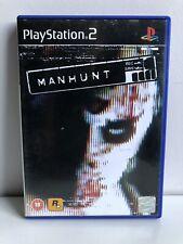 PS2 MANHUNT PAL/ UK VERSION PLAYSTATION 2
