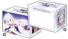 Re:Zero TCG Trading Card Deck Case *Emilia* Anime Game MtG YGO Pokemon Holder