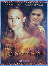 Affiche ANNA ET LE ROI Anna and the king JODIE FOSTER Andy Tennant 40x60cm *