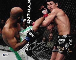 Demetrious Johnson Signed 8x10 Photo BAS Beckett COA UFC Live vs Dominick Cruz 6
