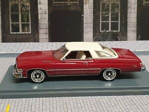 NEO SCALE MODELS 1/43 - BUICK - LESABRE HARD-TOP COUPE 1974