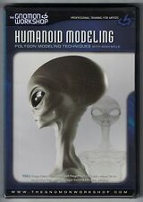 Humanoid Modeling: Polygon Modeling Techniques with Sean Mills DVD - BRAND NEW
