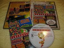 Namco Museum XBox video game COMPLETE anthology us usa PH english region 1 ntsc