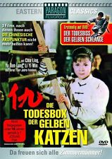 3 Orientale LE TODESBOX jaune CHATS + Morsure de la mort Serpent Boîte DVD