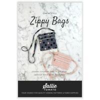 Sallie Tomato Zippy Bags Crossbody Sewing Pattern 2 Sizes