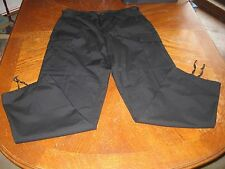 NWOT Military Outdoor Clothing Black Cargo Pants Safety Combat Trousers, M-Reg
