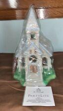 Partylite The Church Olde World Village Tealight Candle Holder Nib P7321