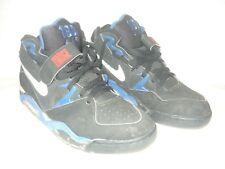 Nike Air Force 180 130010-010 size 12 Black-Royal Blue 1992 OG original vintage