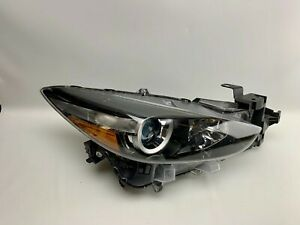 2017 2018 MAZDA 3 HALOGEN HEADLIGHT RIGHT PASSENGER SIDE RH OEM 17 18