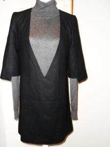 HUGO BOSS Kleid GR 34 ( S 36 )  Edel Chic Office schwarz Business-Dress
