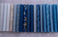 "Blue Sky Fabric 28 Piece Layer Cake Floral 10"" Fabric Squares Premium Cotton"