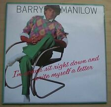"""BARRY MANILOW I'M GONNA SIT RIGHT DOWN... 7"""" P/S UK"""
