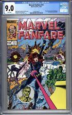 Marvel Fanfare #11 - CGC 9.0 (VF/NM) 1983 - Bronze Age