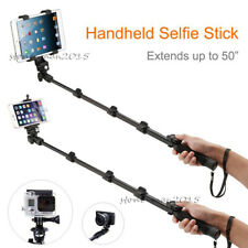 Selfie Stick Monopod+Bluetooth Remote for iPad Tablets Cellphones Camera Gopro