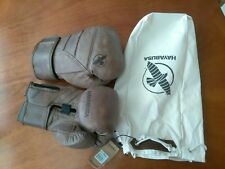 Hayabusa T3 Kanpeki Hook and Loop Training Boxing Gloves -16 oz.- Brown