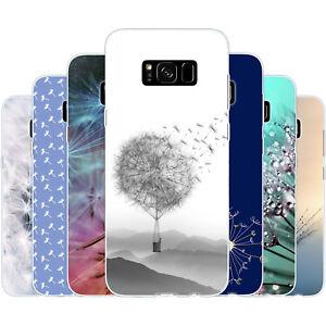 dessana Pusteblume TPU Silikon Schutz Hülle Case Handy Tasche Cover für Samsung