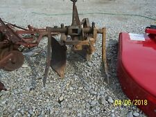2 Point Hitch International 2 - 14 Plow With 1 Coulter And Tailwheel