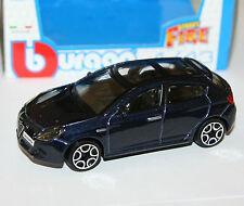 """Burago-Alfa Romeo Giulietta (azul) - """"Street Fire Modelo Escala 1:43)"""